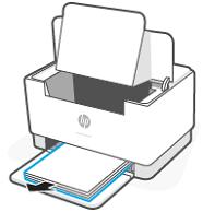 Wyjmowanie stosu papieru z zasobnika wejściowego