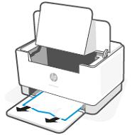 Usuwanie zaciętego papieru z podajnika papieru