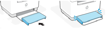 Colocar la cubierta de la bandeja