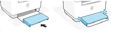 Zakładanie pokrywy podajnika