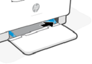 Afastar as guias de papel