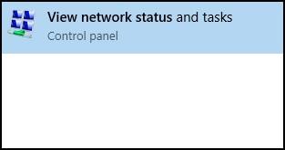 Søg efter resultater for Vis netværksstatus
