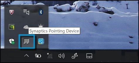 ClickPad 설정 열기