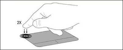 TouchPad 켜기/끄기 스위치