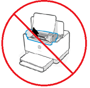 Do not remove the toner