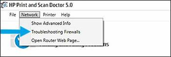 Selecting Troubleshooting Firewalls