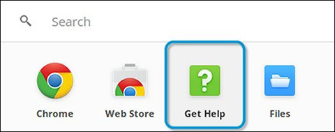 ChromeOS CROSH Get Help