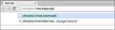 ChromeOS Network log net internals URL