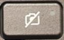 Tecla del obturador de la cámara web (luz apagada)