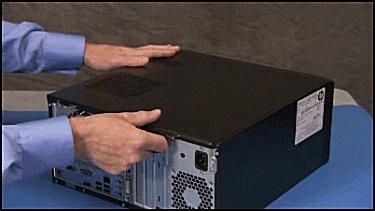 Deslice el panel lateral