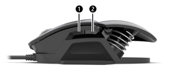 매크로 기능을 활성화하려면 측면 버튼 두 개를 모두 누르십시오