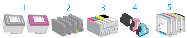 Cartridge types