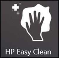 HP Easy Clean tile