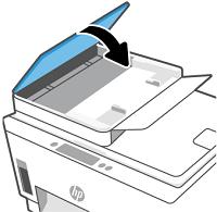 關上文件進紙器護蓋