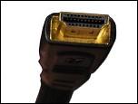 HDMI 케이블에 있는 플러그의 이미지