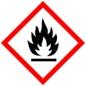 Знак опасности: легковоспламеняющаяся жидкость