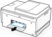Removing any jammed paper