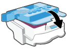 Closing the printhead cover