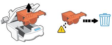 Removing the orange guard