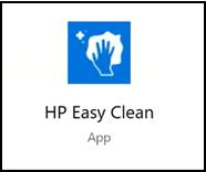 אריח HP Easy Clean