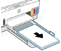 Removing any paper from the input tray