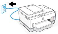 Conexión del cable de alimentación