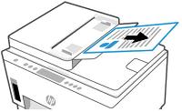 Alkuperäisten sivujen poistaminen automaattisesta asiakirjansyöttölaitteesta