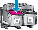 Removing the ink cartridges