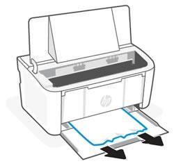 Entfernen von gestautem Papier aus dem Zufuhrfach